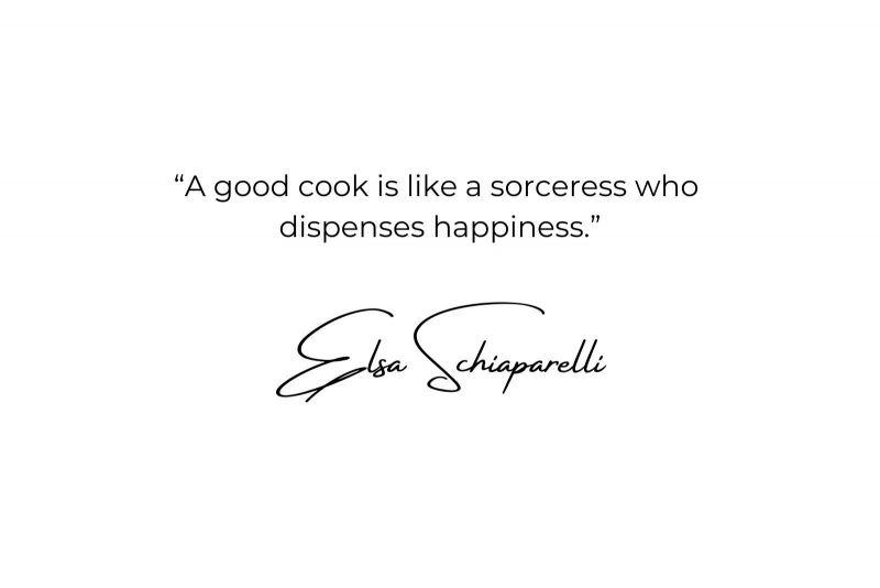 """""""Per me la cucina resterà sempre un gesto d'amore. La cucina è il luogo dove si crea. L'approccio deve essere, direi… visionario."""""""